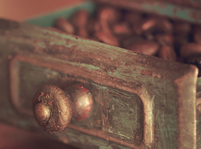 Old times Antique Bokeh Close-up Coffee Coffee Beans Grinder Indoors  No People Old Rusty The Past