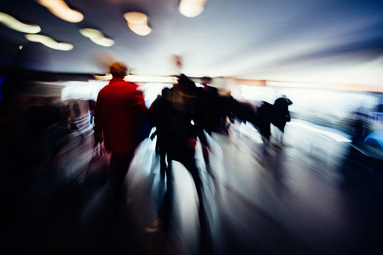Motion The Week on EyeEm Light And Shadow Capture The Moment Motion Capture Blurred Motion Movement Nikon D750 Nikonphotography Street Photography Obscure Abstract Atmospheric Mood Travel Commuting Group Of People Motion Walking Crowd Real People Men Transportation City Adult Women Lifestyles Architecture People Unrecognizable Person Illuminated Defocused Silhouette City Life Outdoors Leaving