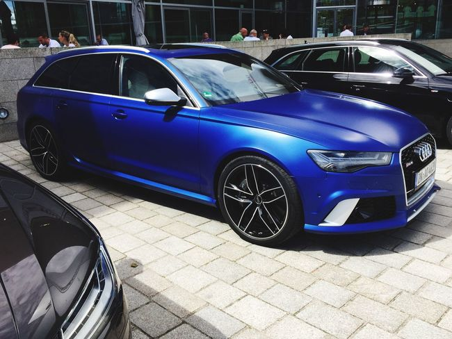Audi rs6 a dream of a car Car Blue Transportation Vintage Car Mode Of Transport Land Vehicle Stationary Old-fashioned Luxury Retro Styled Outdoors Day Collector's Car Architecture Audi Audisport