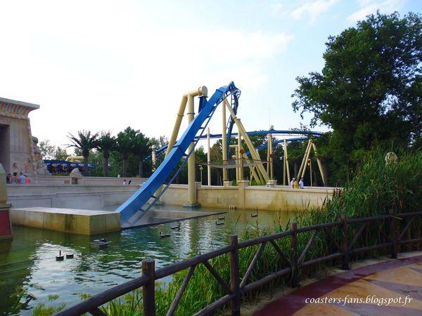 OzIris - Parc Astérix (France) Oziris Parc Asterix Roller Coaster Rollercoaster Montagne Russe Parc D'attractions B&M Life France Coasters Coasters Fans