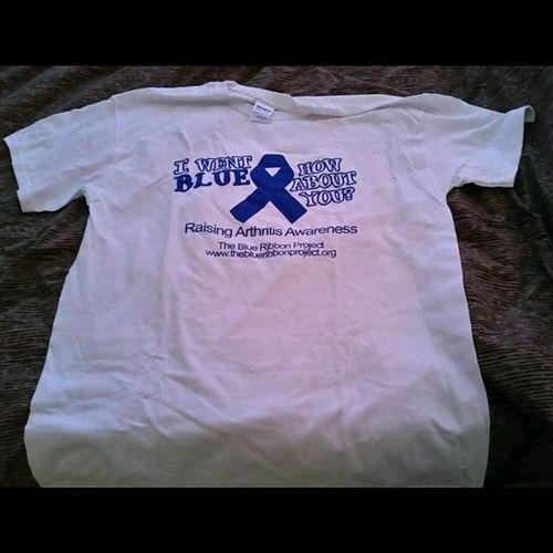 TheBlueRibbonProject GoBlue Ra Arthritis Awareness