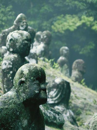 禅 Zen Stone Statue Moss Amazing Place Buddha Nature EyeEm Nature Lover