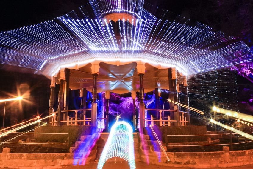 Time Warp Artistic Gazebo Park Experimental Warp Speed Old Meets New Australian_collection Bathurst Winterfest Night_collection School Holidays Christmas In July Lighting Design Architecture_collection Long Hair Illuminated Night Architecture Built Structure Decoration Glowing Lighting Equipment Motion Building Exterior Celebration Light Arts Culture And Entertainment Event Blurred Motion Christmas Lights Travel Destinations The Traveler - 2018 EyeEm Awards The Creative - 2018 EyeEm Awards #urbanana: The Urban Playground