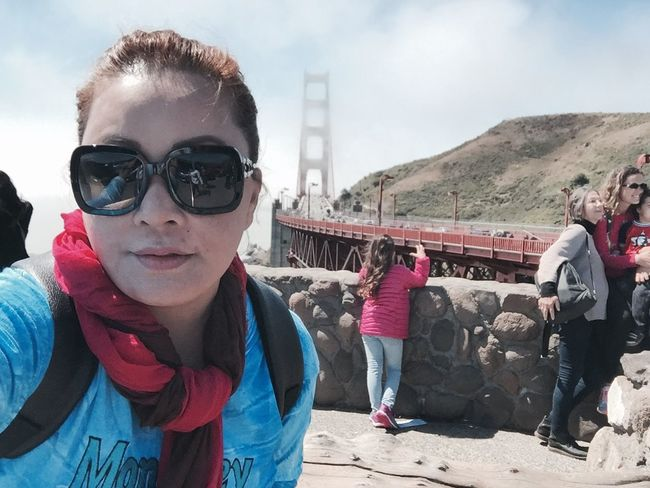 #throwback #GoldenBridge June 2015 For My Own Photo Journal Live, Love, Laugh Fashion&love&beauty Happy People Travel Photography San Francisco
