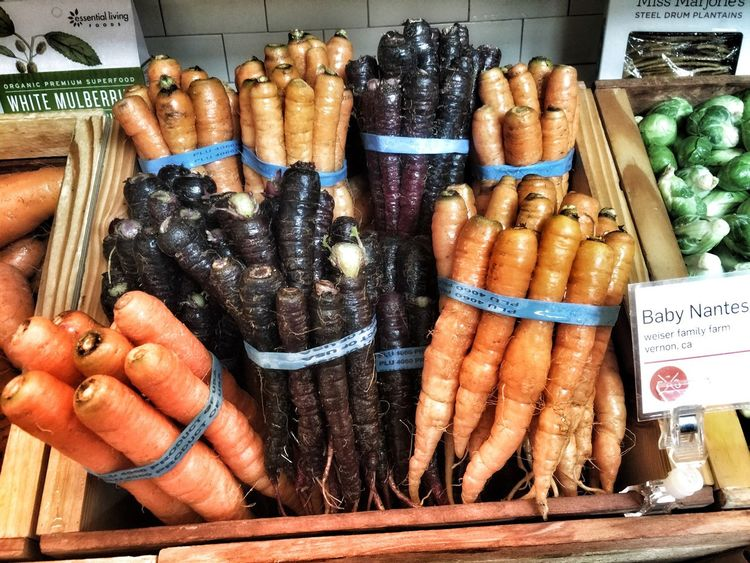Just carrots. Taking Photos