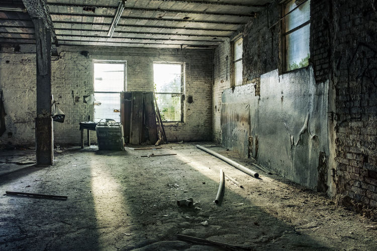 Desolate room