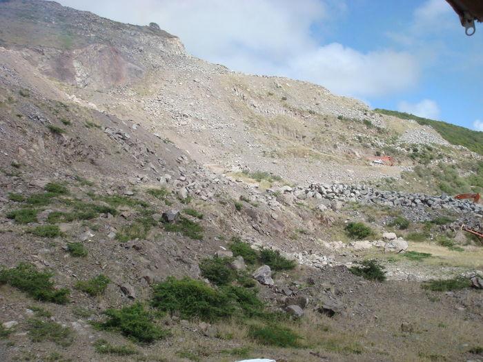 Hill Hillside Landscape Nature Scene Scenic St. Kitts Tranquility