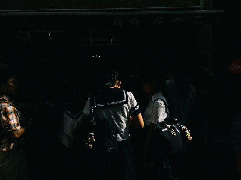 Yokohama, Japan, 2016 Everybodystreet Japan Light And Shadow Mobilephotography Real People Streetphotography The Street Photographer - 2017 EyeEm Awards Yokohama