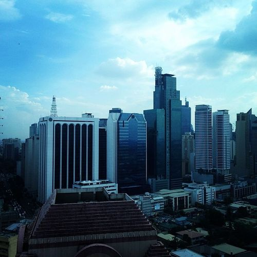 A view from the top floor...Makati WOW InstaPlace Vacation