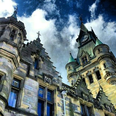 'The Registry' Dunfermline Fife  Scotland Igscotland haggismunchers Gothic Registry Architecture Buildings Turrets Stone Cloudporn skyporn skypainters instamob instahub picoftheday bestoftheday primeshots