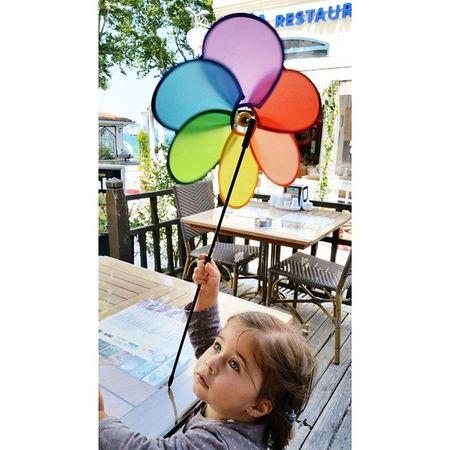 Ruzgargulu Weathercock Niece  Littlegirl colors colorful beylerbeyi aunty