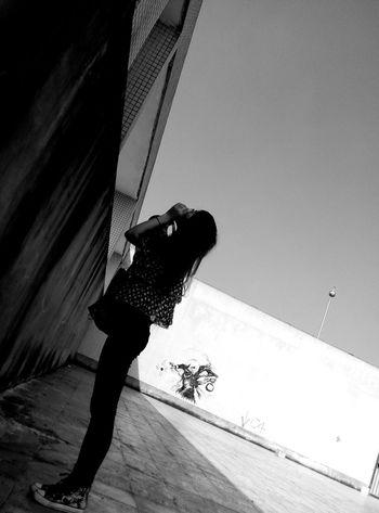 Hello World Followme Black & White