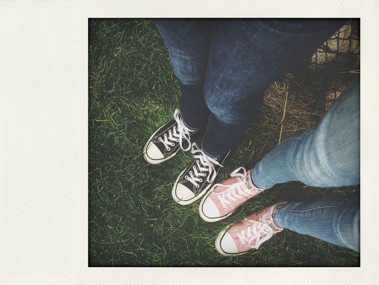 Converse Shoes Friends Pinkandblack