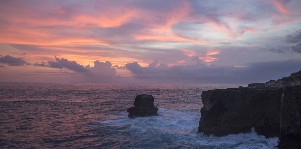 Beach Beauty In Nature Cloud - Sky Day Dramatic Sky Horizon Over Water Idyllic Landscape Nature No People Outdoors Romantic Sky Scenics Sea Seascape Sky Sunset Tourism Travel Travel Destinations Water