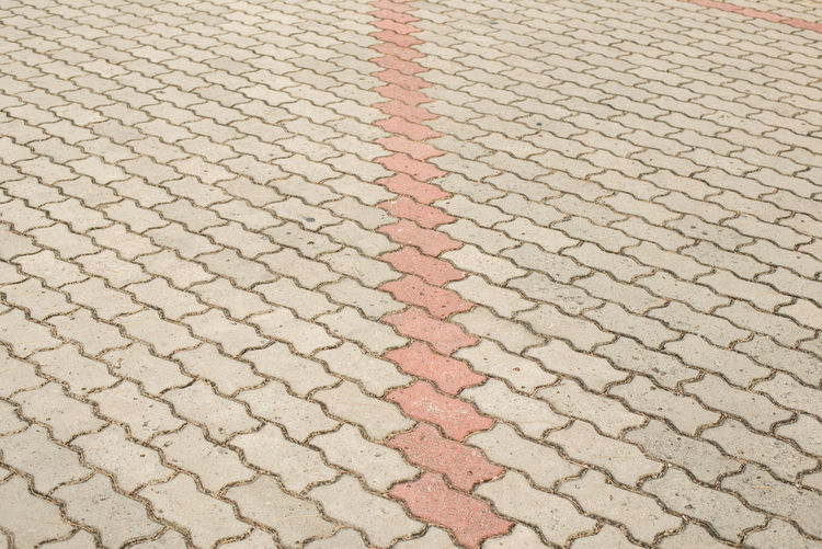Bricks pattern for background. Pattern Backgrounds Full Frame High Angle View No People Day Textured  Street Repetition Footpath Cobblestone Paving Stone Stone Outdoors City Close-up Design Sunlight Order Shape