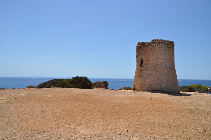Old tower on