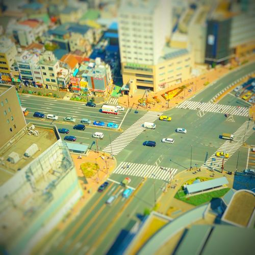City Aerial View Tilt-shift Cityscape Road No People Outdoors Architecture Day