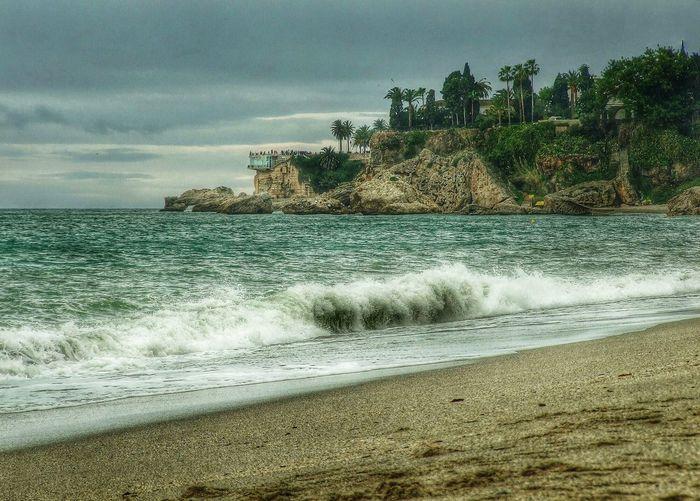 Balcón de Europa. Finepix Beach Paisajes Mar Mediterráneo