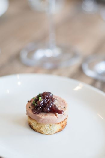 ©Amy Boyle Photography Foie Gras Close-up Day Dessert Food Food And Drink Freshness Indoors  Indulgence No People Plate Ready-to-eat Serving Size Sweet Food Table Temptation