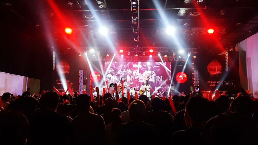 Coke Studio Philippines Season 2 Launch: Performing onstage is Ben & Ben Coke Studio Ben & Ben Fan - Enthusiast Audience Rock Music Illuminated Concert Music Festival Entertainment Event Live Event Pop Music Stage Festival Goer Spotlight Stage Light First Eyeem Photo