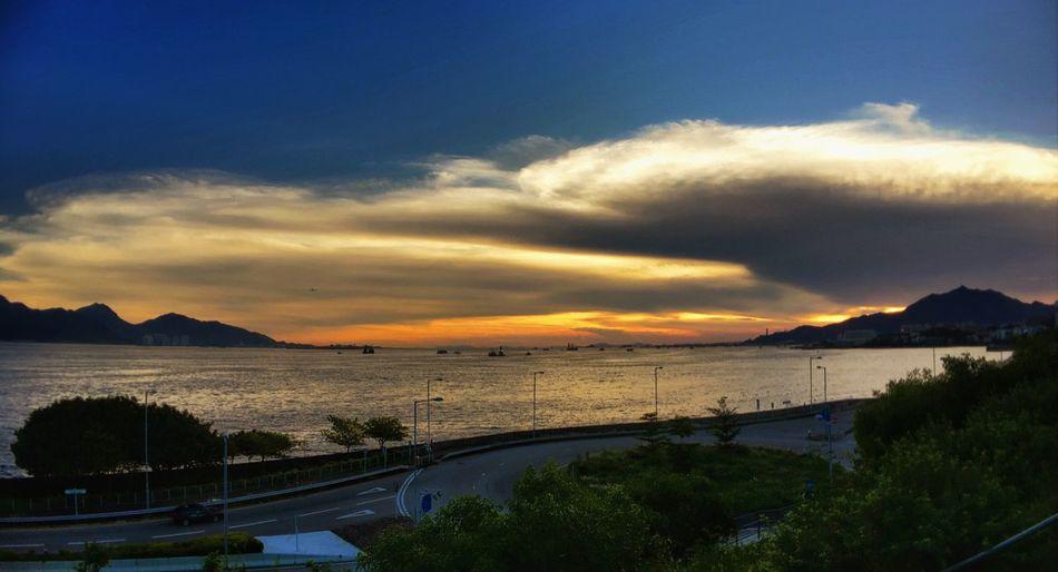 Sunset Sunset HongKong Hong Kong