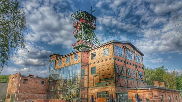Silesia Buildings & Sky Zabrze Coal Mine Szyb Maciej Poland