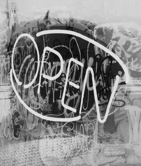 Open open sign neon sign