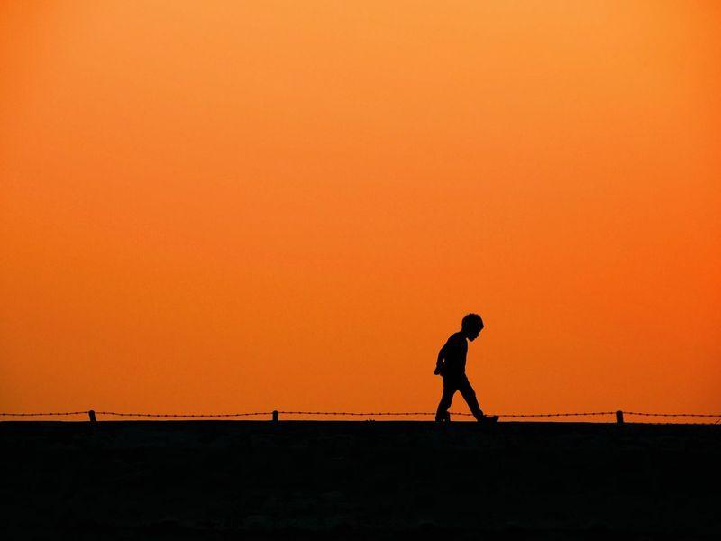 Sunset Sunset Silhouettes Silhouette Korealandscape