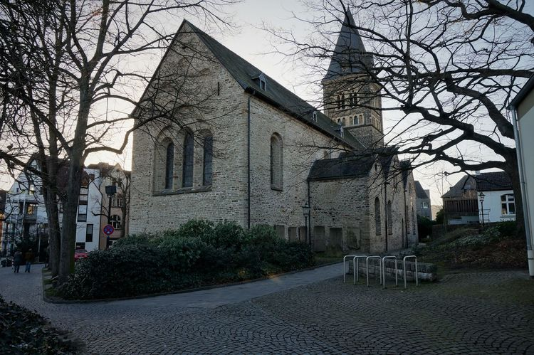 Central-Church Architecture Bare Tree Building Exterior Built Structure Church City Day Framehouses Herdecke In Westphalia Nature No People Old Town Square Outdoors Sky Small Town Tree Village Photography