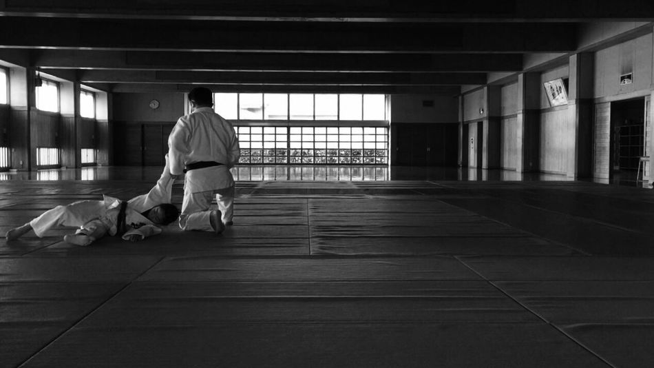 Monochrome Blackandwhite Judo Calm Tatami Japan Japan Photography Japanese Culture 柔道 凛 清廉