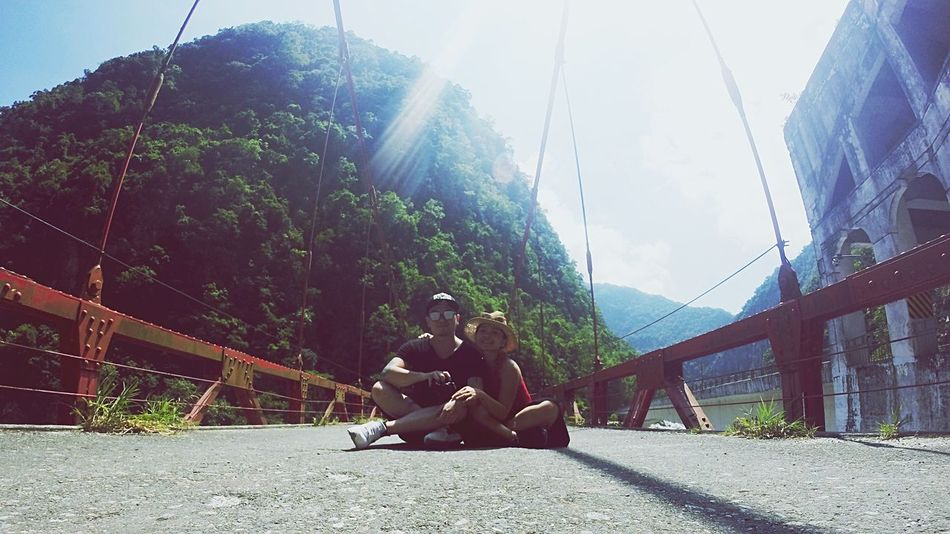 On The Way Adventure Club Taroko National Park Taiwan Travel Photography Travel Destinations Bridge Abandoned Places Getting Lost In Nature Showcase July