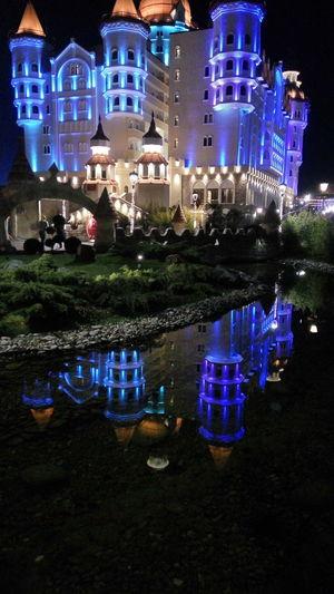 Bogatyr богатырь отель Hotel Hotels Highlights Reflection Fairytale  Sochi2017 сочи2017 Adler2017 Illuminated Sochi Nightlife олимпийскийпарк Олимпийский парк, Сочи.
