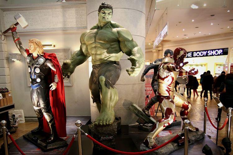 헐크 와 찰리들 Hulk And Charlie Avengers