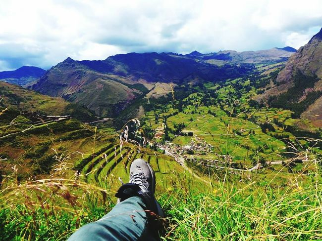 Pisac Perú Chilling Relaxing Landscapes One With Nature Mountains And Sky Grasslands Ancient Civilization Culture Travel Photography Exploring Nature Solivagant The Great Outdoors - 2016 EyeEm Awards solotraveler Solitary Moments