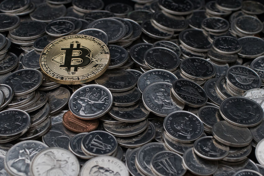 One Coin to Rule Them All Abundance Backgrounds Bitcoin Bitcoin Coin Close-up Coin Crypto Currency Cryptocurrency Currency Digital Currency Digital Money Finance Full Frame Large Group Of Objects Metal Money No People Number Savings Text Wealth