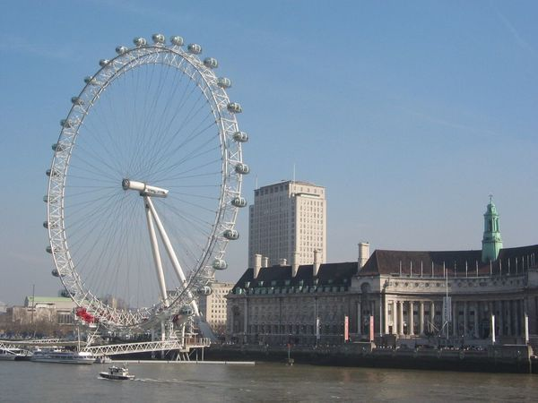 See the world! London Eye London Thames River Beautiful View Relaxing Enjoying Life Hello World Travel Destinations Europe Trip United Kingdom #uk #helloworld #checkthisout Leisure Time River Bank View By The Thames River Uk