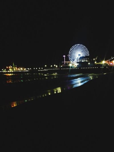 It's clear that this is where I'm meant to be Pier Beach Latenightadventures