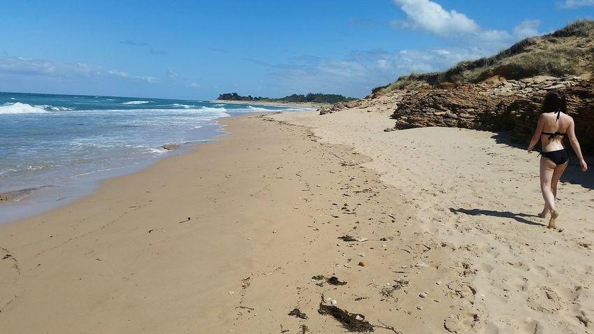 Looking for the toilet Beach Sand Sea Landscape Sky Vacations Nature Ile De Ré Outdoors Travel Destinations Summer
