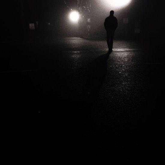 Night Silhouette Athy Ireland