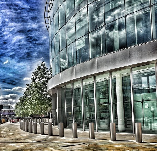 Architecture Building Exterior Modern Outdoors Cloud - Sky BBC Day Nature Filter EyeEmNewHere EyeEmNewHere