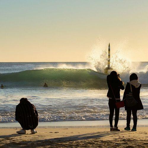 Weekend swell Sunshine Surfing Enjoying The Sun Taking Photos Australia Sea