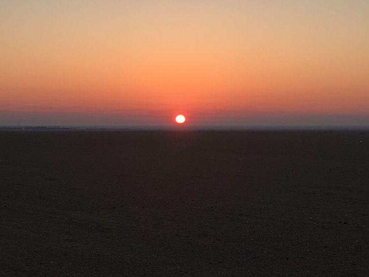 North kuwait desert 6 am