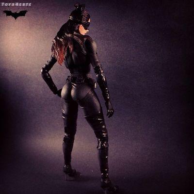 """Meow.."" Play Arts Kai Dark Knight Catwoman"