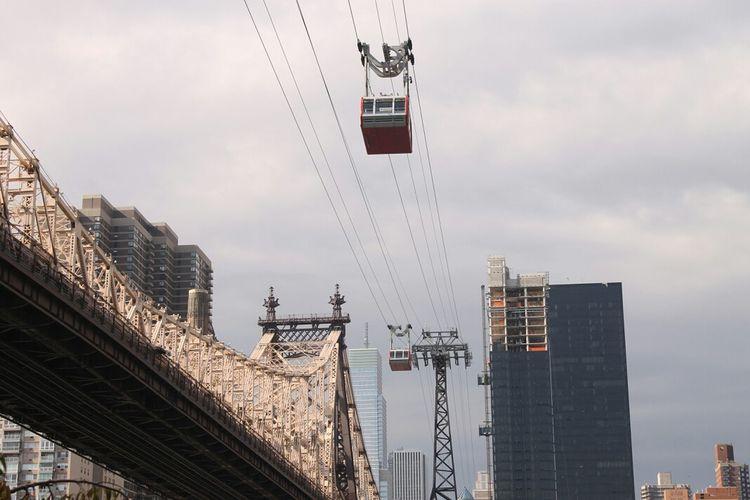 Manhattan to Roosevelt Island, Roosevelt Island to Manhattan, NYC NYC Roosevelt Island Tram
