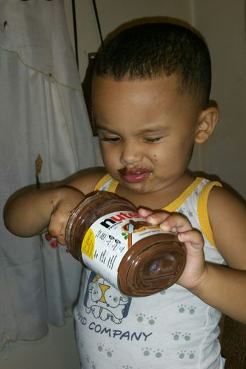 I Dont Like Candy But I Love Nutella I Love Nutella Babylove Nutella Auntiesbaby I Love Chocolate! Babyboy Mmmmmm Chocolate