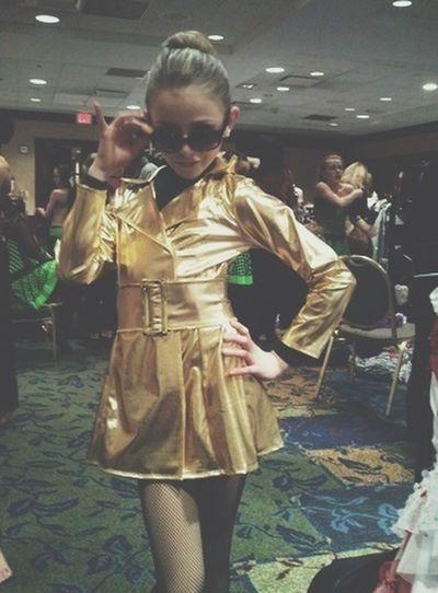 Well isnt that cute Dancemoms Chloe Lukasiak