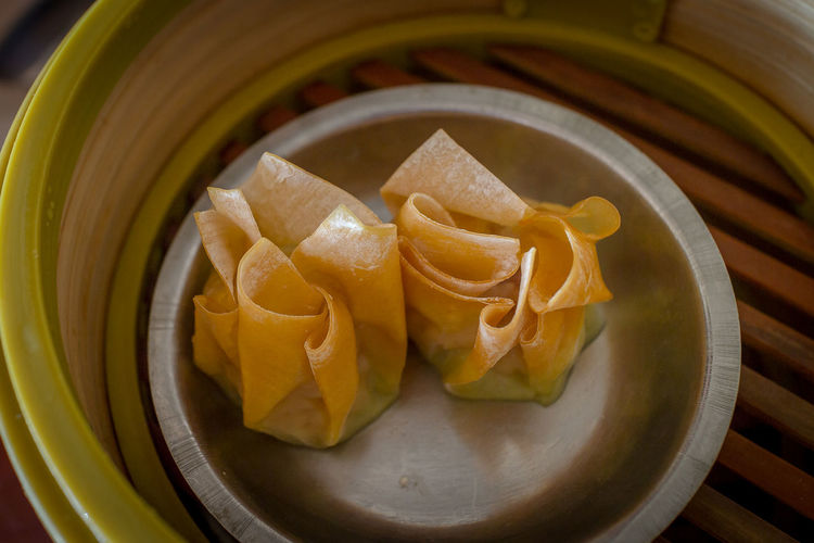 Dim Sum or Steamed Chinese Dumpling in Bamboo Trays by Local Street Food Vendors Appetizer Asian Food Chinese Food Cuisine Delicious Dim Sum Eating Food Food And Drink Healthy Eating Meal Steamed Dumplings Streetfood