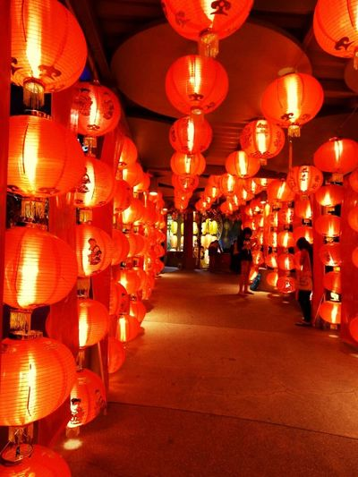 Chinese New Year Hanging Lantern Cultures Chinese Lantern Chinese New Year Chinese Lantern Festival Illuminated Traditional Festival Outdoors No People Night Taking Photo Hanging Collection Taking Photos Red Red Color