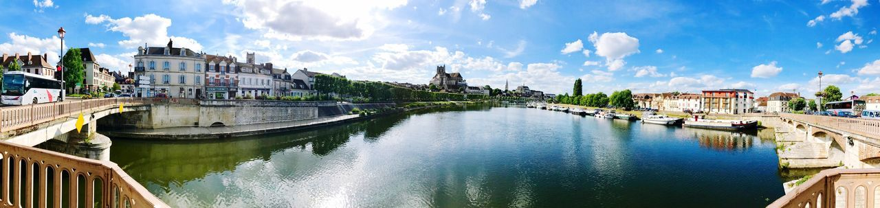 EyeEm Selects Beautiful skyline of Auxerre in France. Architecture Built Structure Building Exterior River Cloud - Sky Sky Water History City Bridge - Man Made Structure Day Travel Destinations Outdoors Auxerre France France 🇫🇷 Burgundy Cityscape