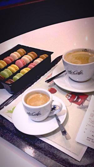 McDonald's Coffee Macarons